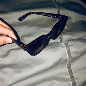 Brown Zebra Print Sunglasses with UV protection